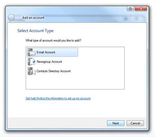 how to set up bigpond email on windows live